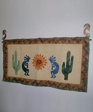 Quilt Hangers, Hooks & Rods from Summer Sky Creations : kokopelli quilt pattern - Adamdwight.com